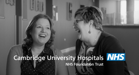 cuh-nurse-video-Emma-Kath-laughing+nhs-logo